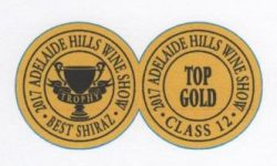 Trophy and Shiraz Medal Image
